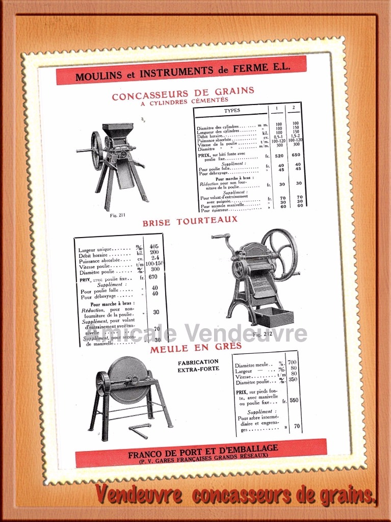 les moulins et les petits mat riels de la cour de ferme. Black Bedroom Furniture Sets. Home Design Ideas