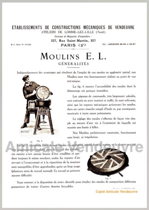 INS 5007 Pdf Documentation moulin E.L 1925