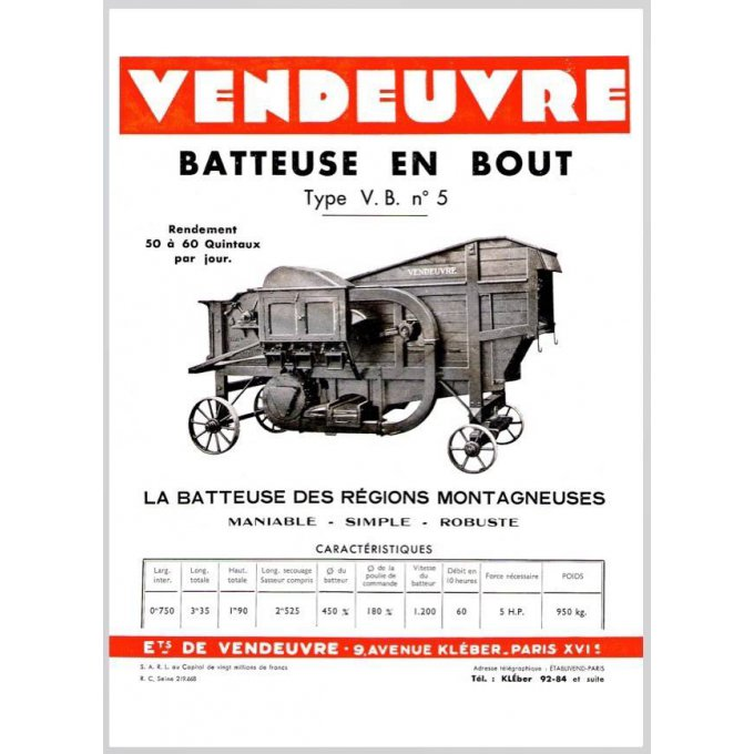 PaBA 2205 Doc. batteuse B.V. n°5