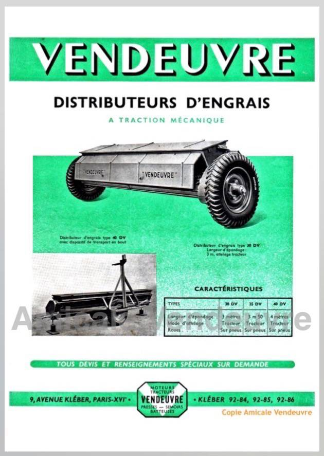 PaSE 4002 Documentation distributeur pneus 1952
